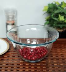 glass 900 ml large serving bowl set