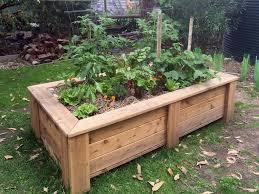 raised garden beds planters on wheels