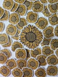 Leopard Sunflower Vinyl Sticker This Life Made Easy