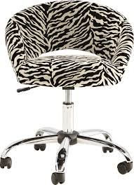 Kids Healy Zebra Desk Chair Rooms To Go