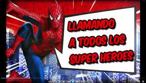 Video Invitacion Tarjeta Spiderman Hombre Arana Cumpleanos
