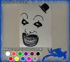 6 Happy Art The Clown Vinyl Sticker Terrifier Movie Horror Car Window Decal Ebay