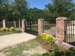 Columns Walls Apex Fence