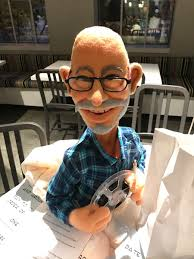"""Monika Evstatieva on Twitter: """"Today is Smokey's last day and Barry made  him a puppet! Reel & white marking pencil in hand! Smokey's advice to all  of us - treat everyone with"""