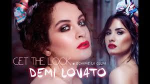 demi lovato makeup tutorial heart