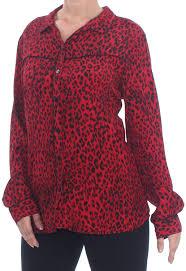 Sanctuary Womens Joni West Shirt - red - XX-Large: Amazon.co.uk: Clothing