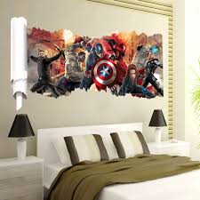 Wholesale Avengers Wall Stickers Buy Cheap In Bulk From China Suppliers With Coupon Dhgate Com