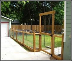 Wood And Wire Fence Designs Landscaping Gallery Backyard Fence Ideas Privacy Diy Privacy Fence Privacy Fence Designs