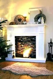 stone fireplace surround kit slate
