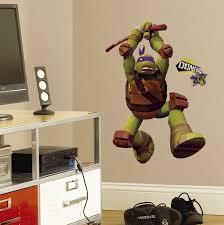 Teenage Mutant Ninja Turtles Don Peel Stick Giant Wall Decals Walldecals Com