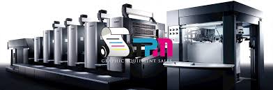 used offset printing presses