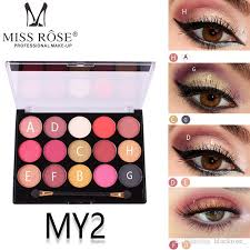 miss rose pearlescent matte eye shadow
