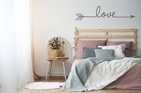 Love Arrow Vinyl Decal Extra Large Wall Art Boho Bedroom Wall Decora Lasting Expressions