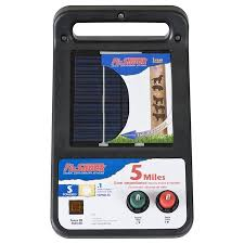 Fi Shock 5 Mile Solar Electric Fence Charger In The Electric Fence Chargers Department At Lowes Com