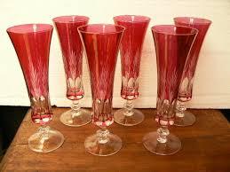 fine cut crystal aperitif wine glasses
