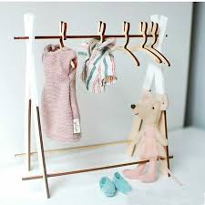 Cute Rabbit Wooden Coat Clothes Hanger Rack Child Baby Kids Hangers Kids Room Decor Wood Crafts Clothing Display And Organizer Hangers Racks Aliexpress