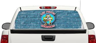 Product Los Pollos Breaking Bad Rear Window Decal Sticker Pick Up Truck Suv Car 3