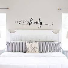 Amazon Com My Vinyl Story Family Wall Decals For Living Room Decor Family Wall Decor Wall Stickers Decorations Home Art Bedroom Love Decals Quotes Word Some Call It Chaos We Call It