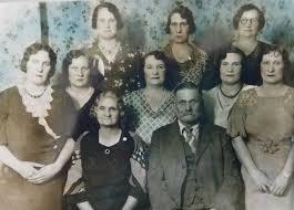 Sarah Ada Jackson & George Edwin Hendrickson Left to right Front ...