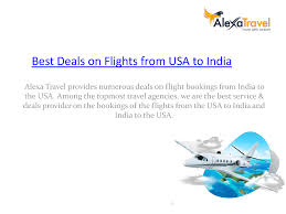 flight deals from usa to india