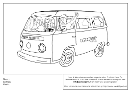 Kleurplaten Kleurplaat Bus