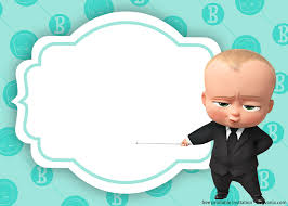 Baby Boss Invitation Template For Your Adorable Little Boss Baby