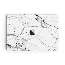 White Hyper Marble Macbook Pro 16 Inch Skin Case Uniqfind