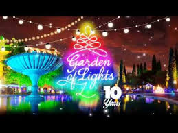 the garden of lights at emperors palace
