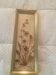 "Vintage Dried Flowers by Dina West Germany 9"" x 3 1/4"" | eBay"