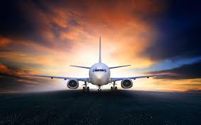 تحميل خلفيات طائرة ركاب مطار طائرة الاقلاع السفر الجوي المدرج
