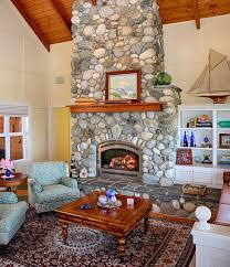 stone fireplaces for nature inspired