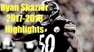 Ryan Shazier 2017 2018 Highlights ...