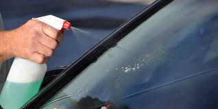 hard water spots from your auto glass