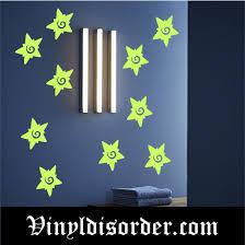 Glow In The Dark Stars Wall Decal Vinyl Decal Die Cut Decal Gdk17