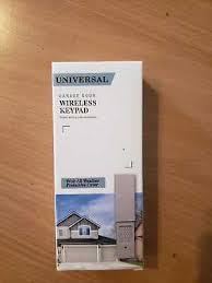 new universal chamberlain wireless