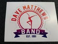 Dave Matthews Band Dancing Nancy Sticker Decal Free S