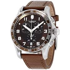 241653 classic stainless steel watch
