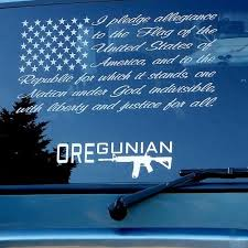 Oregunian Ar 15 Rifle Decal Or2a Swag Shop