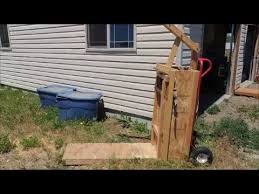 diy hay baling box you
