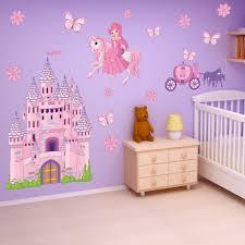 Shop Princess Castle Theme Vinyl Wall Decal Set Overstock 10029555