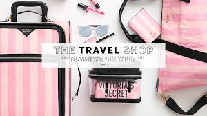 victoria secret makeup kit bag