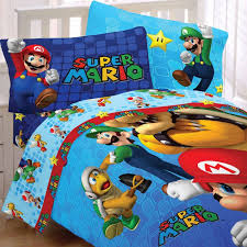super mario brothers bedding set