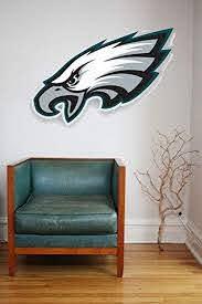 Home Garden Decor Decals Stickers Vinyl Art Philadelphia Eagles Wall Art 4 Piece Set Large Size New In Box