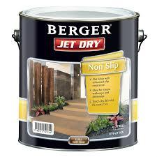 berger jet dry 4l non slip extra deep