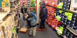 Dixie Elementary Rack Room Shoes Give Students New Kicks