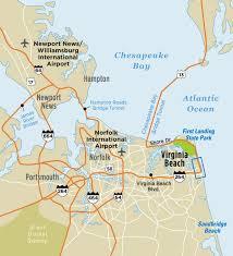 map of virginia beach va virginia