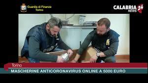 Torino: mascherine anticoronavirus online a 5000 euro - Calabria ...