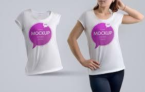 t shirt mockup psd templates