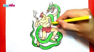 Vẽ truyện cổ tích Thạch Sanh - Vẽ Thạch Sanh - Vẽ tranh Thạch Sanh - Duy  Hiếu - YouTube