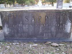 Addie Robinson Sapp (1886-1963) - Find A Grave Memorial